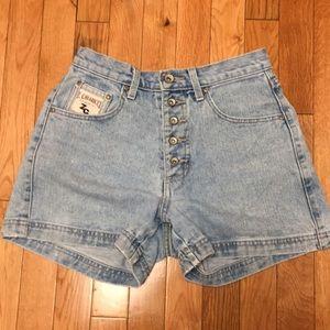 Vintage Z.Cavaricci button fly jean shorts